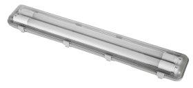 Liuminescencinis šviestuvas ELECTRALINE,2 x 24 W LED, T8, 156 cm, 4800 lm, 4000K,IP65, hermetinis, komplektacijoje su 2 vnt. T8 24 W Led lempų, 65039
