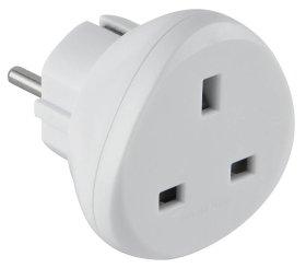 Adapteris ELECTRALINE, EURO-UK, 70058