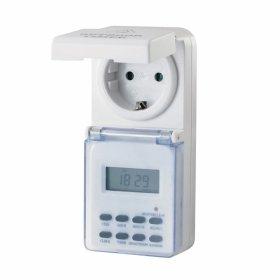 Laikmatis ELECTRALINE, 1 mėnuo/1 min., IP44 galima naudoti lauke, 16A, 3680 W, 59506