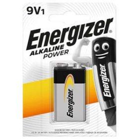 Maitinimo elementai ENERGIZER 1 vnt. 9 V, 6LR61, BEAB5-6LR61,
