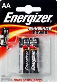 Maitinimo elementai  ENERGIZER 2 vnt. AA LR6 BEAB1-LR6,