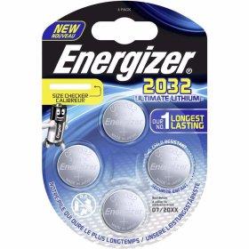 Maitinimo elementai ENERGIZER ULTIMATE LITHIUM PERFORMANCE, 4 vnt., CR2032, BP4