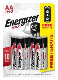 Maitinimo elementai ENERGIZER Ultra Plus, 4+2 vnt.,AA LR6 Ultra Plus