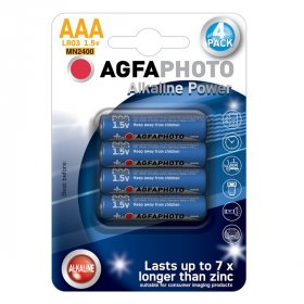 Maitinimo elementai AGFAPHOTO 4 vnt. AAA LR03