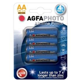 Maitinimo elementai AGFAPHOTO 4 vnt. AA LR6 ,