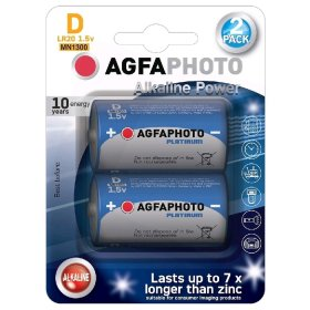 Maitinimo elementai AGFAPHOTO 2 vnt. D LR20 ,