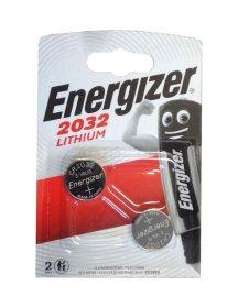 Maitinimo elementai ENERGIZER 2 vnt. CR2032, LITHIUM