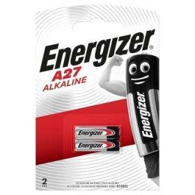 Maitinimo elementai ENERGIZER 2 vnt. A27 12V, šarminiai, FSB2
