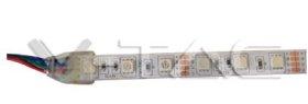 Šviesos diodų juosta V-TAC, LED 5m, 10,8W/m, 60LED/m, IP65, RGB keičia spalvas, 12V, 840lm/m, SMD5050, 7-18-2155
