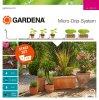 Rinkinys augalų vazonams GARDENA MDS 7 vazonų ir 3 lovelių laistymui