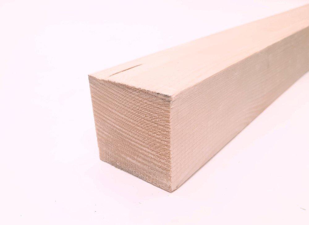 Tašelis obliuotas matmenys 50 x 50 x 3000 mm, spygliuotis