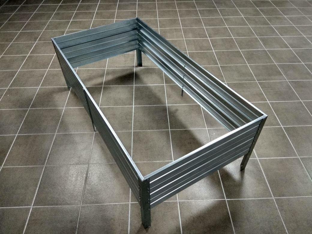 Pakelta lysvė KLASIKA GARDEN cinkuota 75x150x30 cm