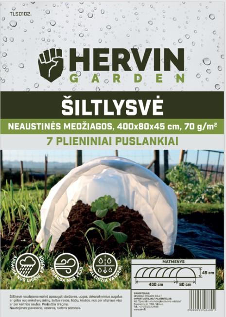 Šiltlysvė HERVIN GARDEN TLSD102, A691130003, 400x80x45 cm, neaustinės medžiagos