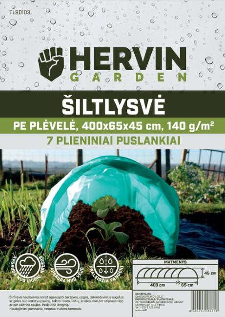Šiltlysvė HERVIN GARDEN TLSD103, A691130004, 400x65x45 cm, PE plėvelės