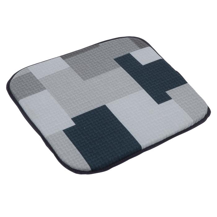 Pagalvelė kėdei PATIO Dodo B019-06PB, 40x40x2cm, tekstilė, pilka