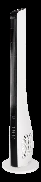 Pastatomas ventiliatorius NHC FT-550, aukštis 111 cm, 40W, 3 galingumo lygiai, nuotolinio valdymo pultas