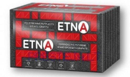Polistireninis putplastis ETNA EPS 70 Frez., su grafitu, Matmenys 200 x 600 x 1200 mm, 1pak. - 0,4159m3, PG