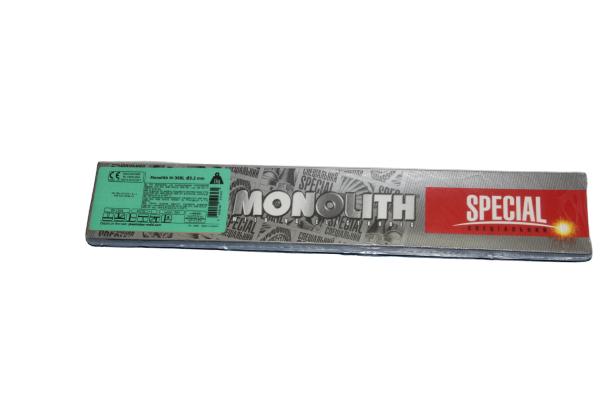Elektrodai nerūdijančiam plienui MONOLITH M-308L, 3,2 mm., 1 kg