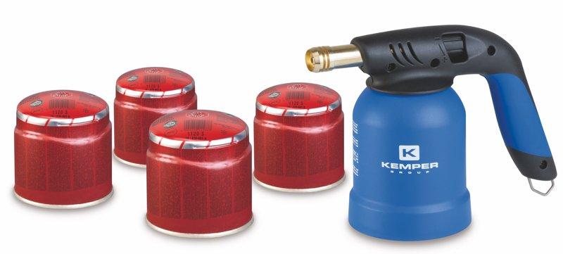 Degiklis ir žieminės dujos KEMPER Regular su automatiniu uždegikliu