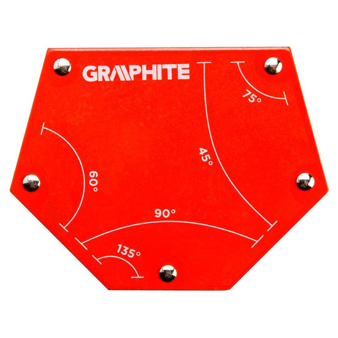 Magnetinis elektrodo laikiklis GRAPHITE, maksimalus laikomas svoris 34 kg