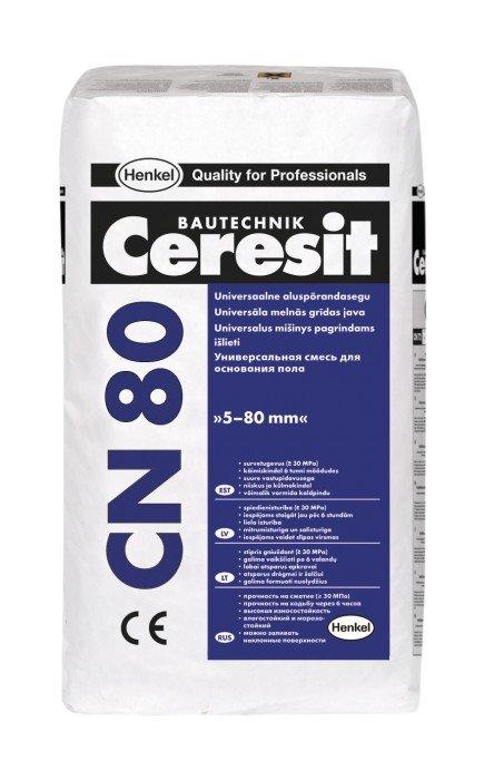 Išlyginamasis mišinys CERESIT CN80, 5-80 mm, 25 kg