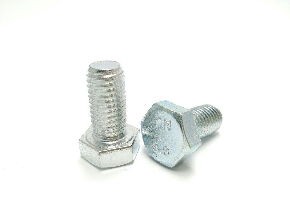 Varžtas ISO4017/DIN933 M8-90 8.8 Zn, 5 vnt.
