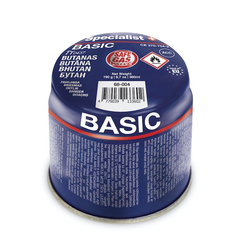 Butano dujos SPECIALIST Basic, 190 g