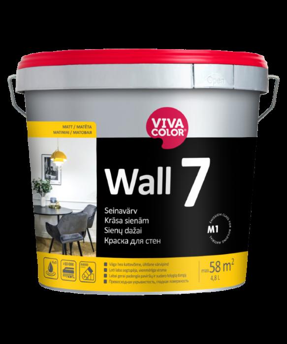 Vandeniniai vidaus dažai VIVACOLOR WALL 7