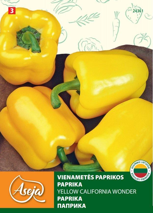 Sėklos daržovių, paprika ASEJA 24361