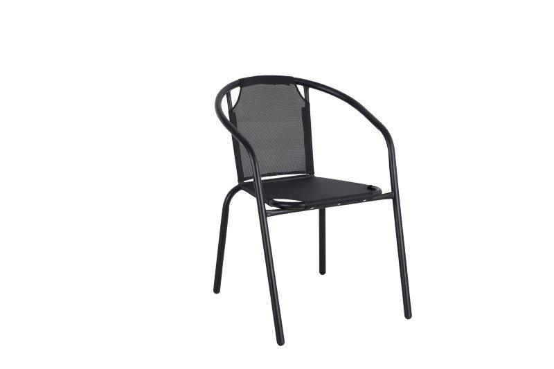 Kėdė NOVELLY HOME  55 x 57 x 73 cm, plienas, drėgmei atspari tekstilė, maks. apkrova iki 120kg