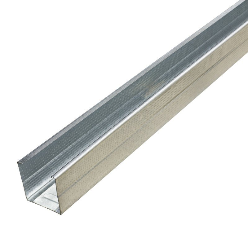 Vertikalus profilis  Profiline CW50 Matmenys 50 x 48 x 0,6 mm, ilgis - 3 m