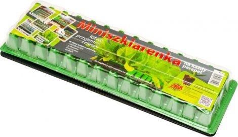 Šiltnamis   56 narelių PL56 160 x 525 mm, narelis 31 x 31 x 45 mm