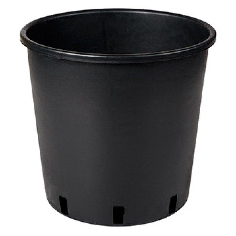 Vazonas sodinukams Vivaio Alto, juodas, 16x16cm 3l