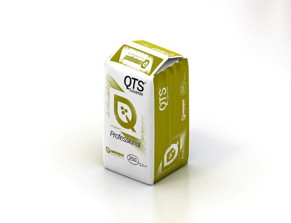 Durpių substratas daiginimui ir persodinimui profesionalams QTS-3 QTS-3