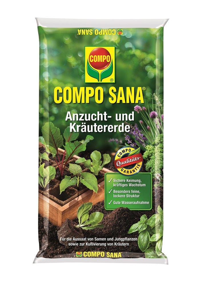 Substratas prieskoniniams augalams ir daiginimui COMPO