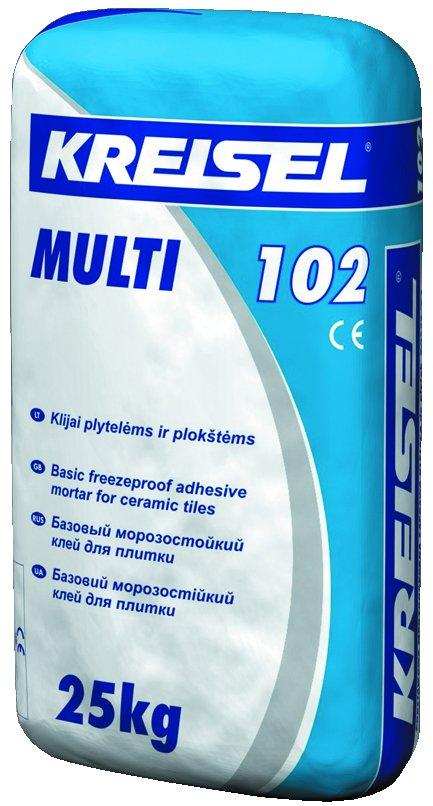 Klijai plytelėms KREISEL Multi 102