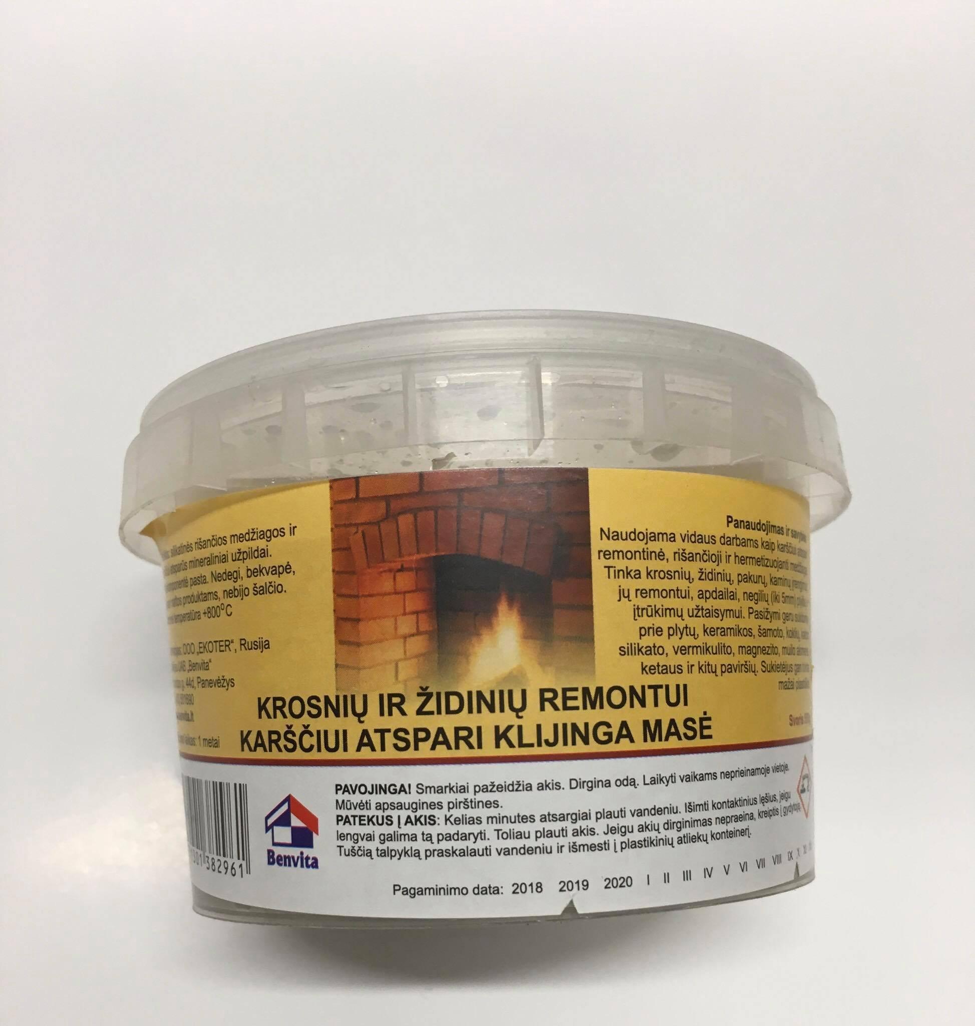 Remontinis mišinys atsparus karščiui, 0,5 kg