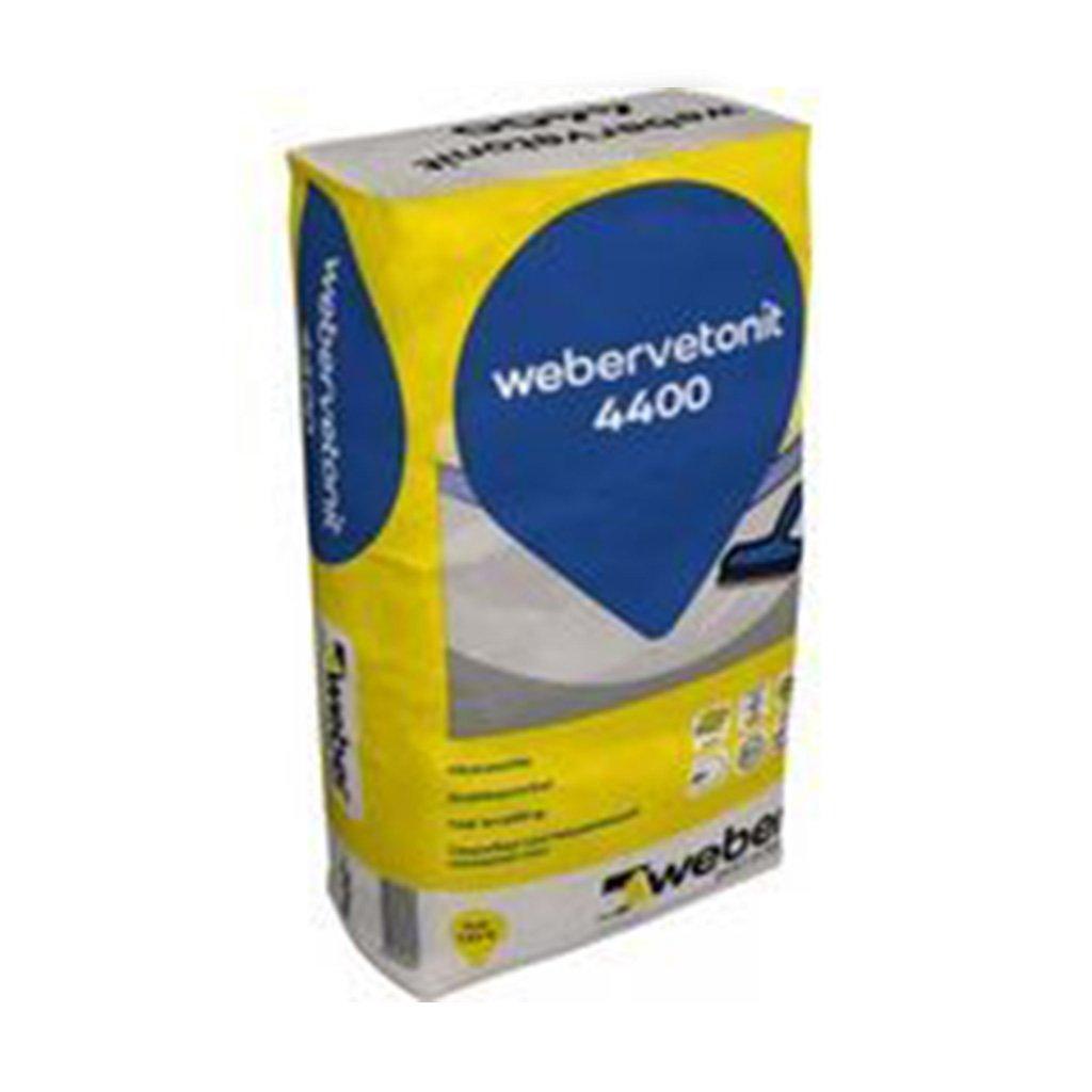 Išlyginamasis grindų mišinys WEBER.VETONIT 4400, storis 0-30 mm, greitai stingstantis, 20 kg