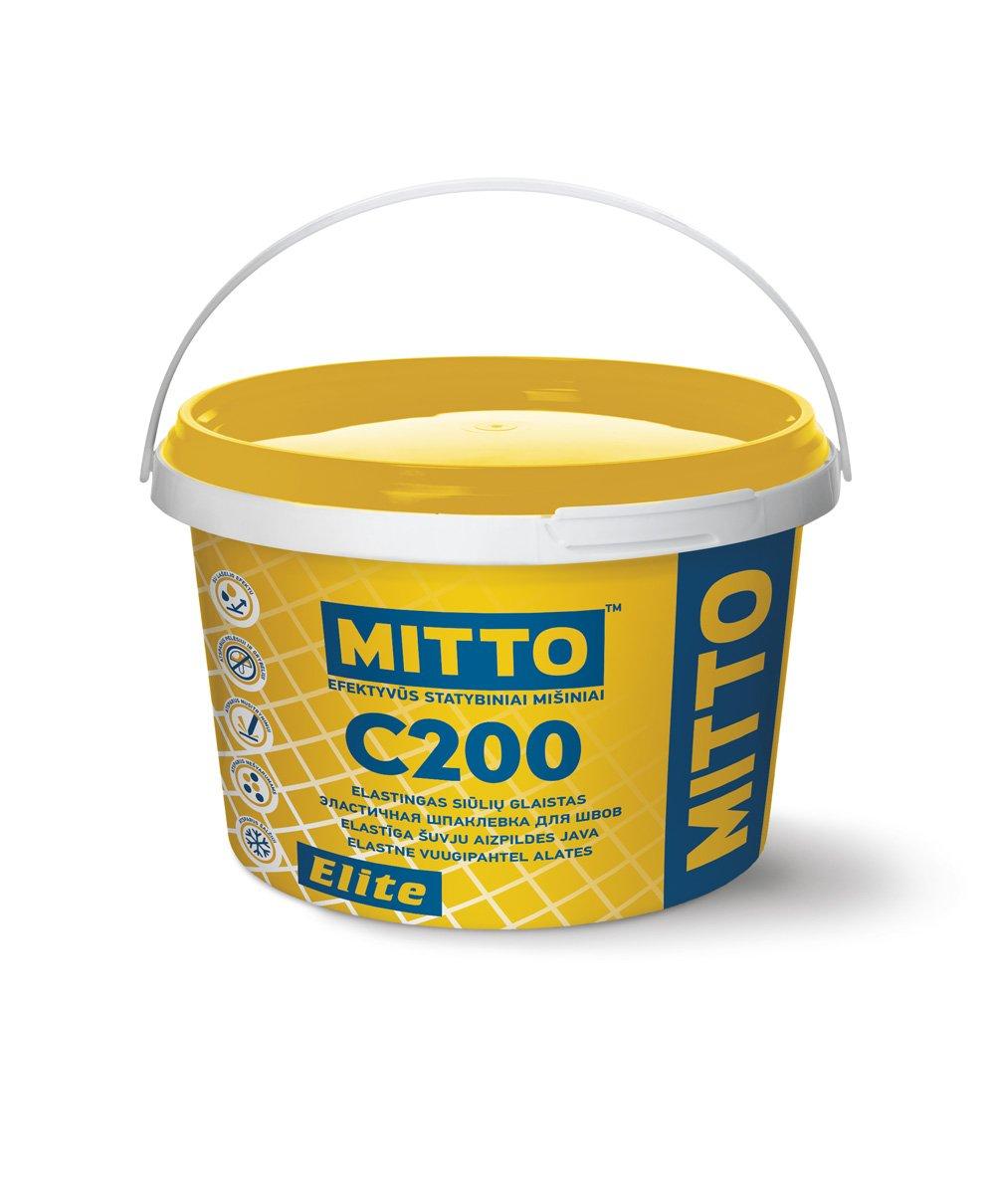 Plytelių tarpų glaistas MITTO C200 Elite ASE65, 2 kg pieniškas opalas