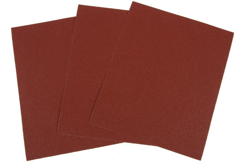 Šlifavimo popierius medžiaginiu pagrindu  P100  230 x 280 mm.