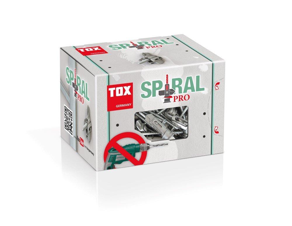 GKP sukamas kaištis su sraigtu TOX, Spiral Pro 39-5, 25 vnt.