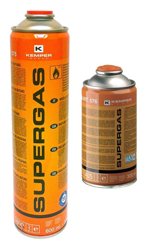 Propano - butano dujų mišinys KEMPER Supergas G576, 300 ml