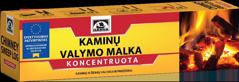 Kaminų valymo malka HANSA 1,1 kg
