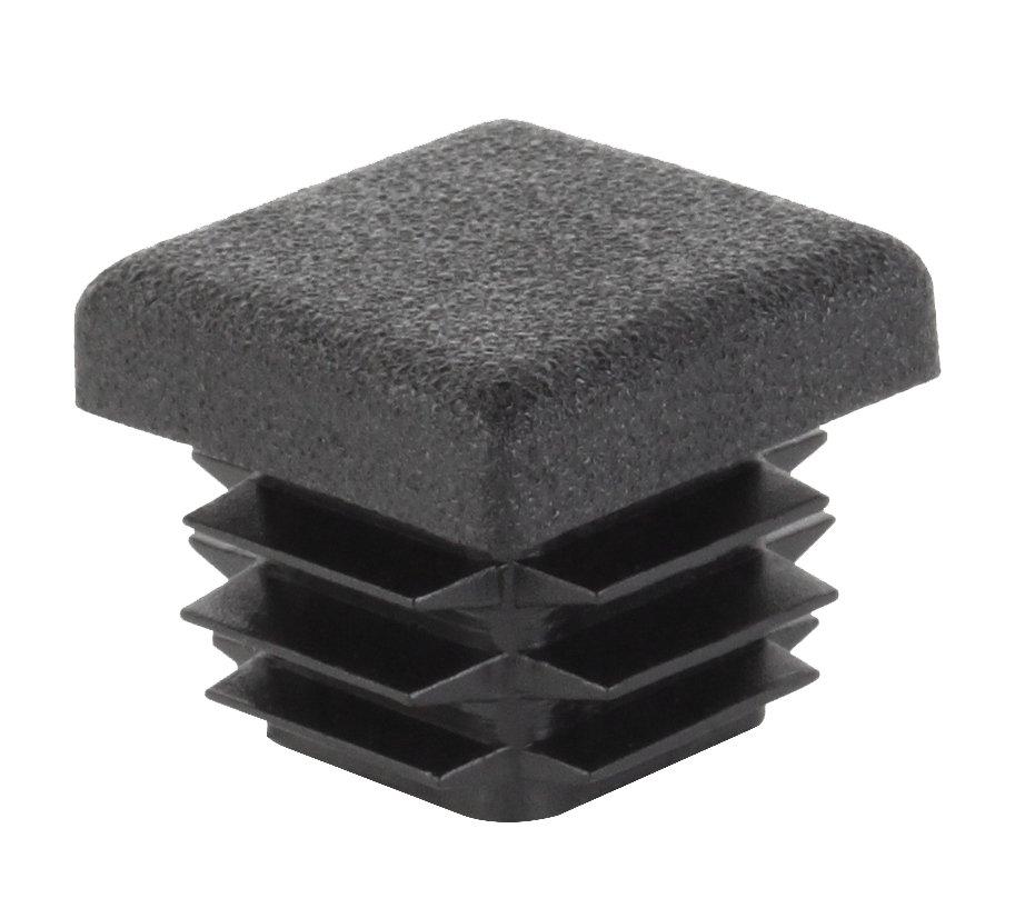 Kaištis kvadratiniam PVC vamzdžiui, 4vnt. 15 mm, juodos spalvos, 426705