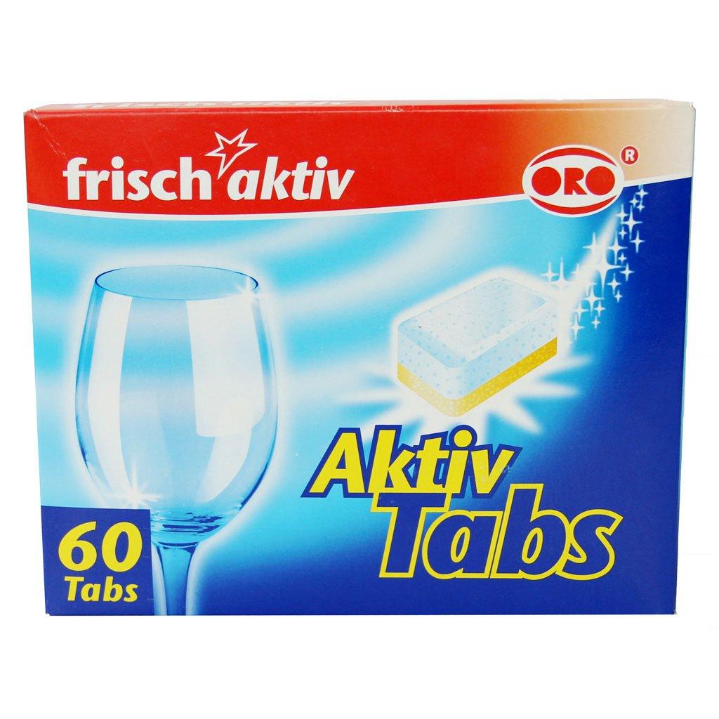 Indaplovių tabletės ORO frish aktiv, 60 vnt. ORO Fresh aktiv, 60 vnt.