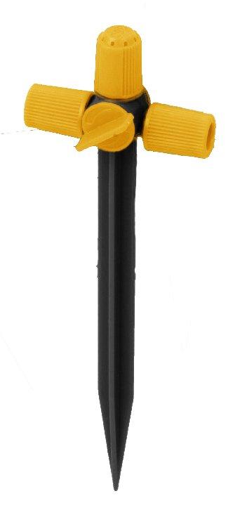 Dušo srovės purkštukas HERVIN GARDEN PRO HG-12083 Micro-Drip sistemai, 3 vnt.