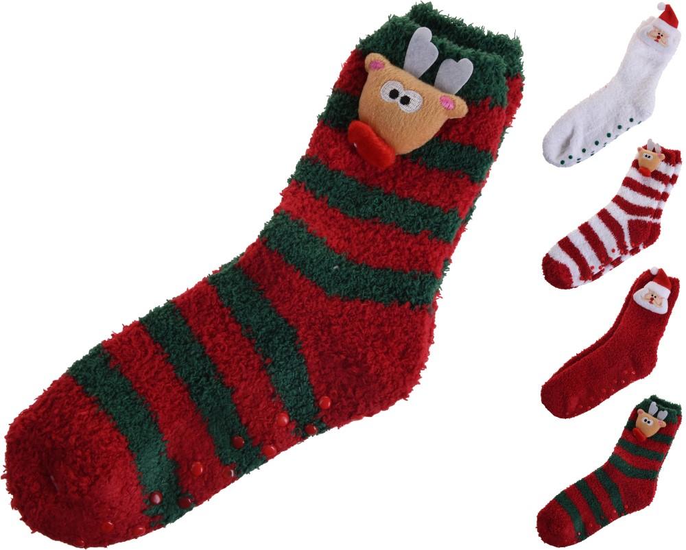 Kalėdinės kojinės su aplikacija