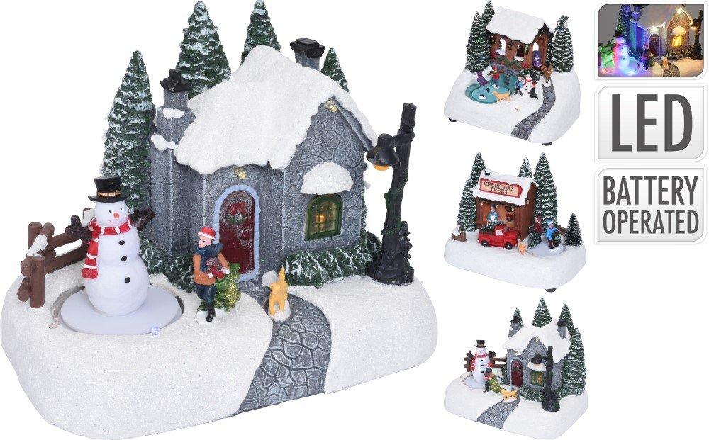 Kalėdinė dekoracija KAIMAS