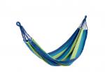 Hamakas  H60, dryžuotas,mėlynas  200x100cm