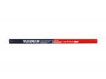 Statybinis dvispalvis pieštukas OSTERO, 180 cmm, mėlynas - raudonas, stiklui, plienui, plytelėms, PVC vamzdžiams (OLO2114)